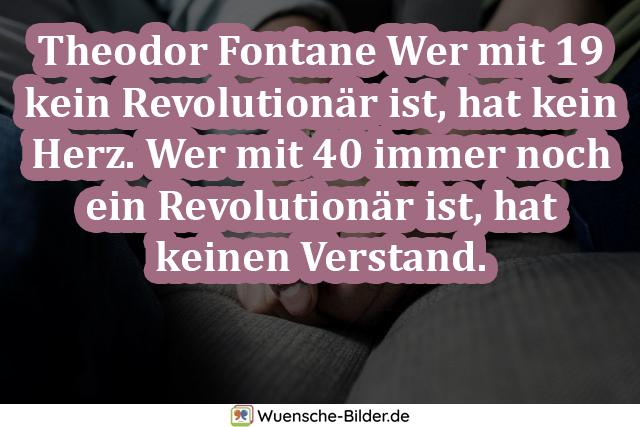 Theodor Fontane Wer mit 19