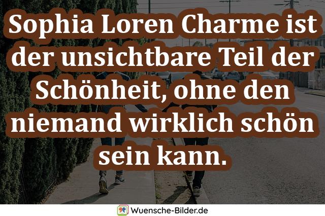 Sophia Loren Charme ist der