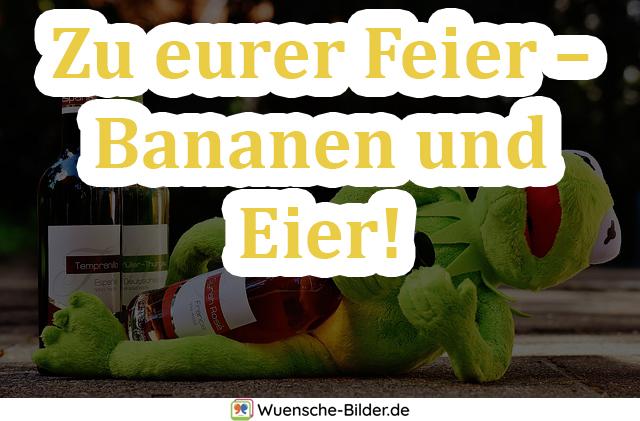 Zu eurer Feier – Bananen und