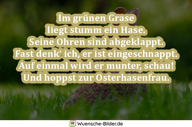 Im grünen Grase liegt stumm
