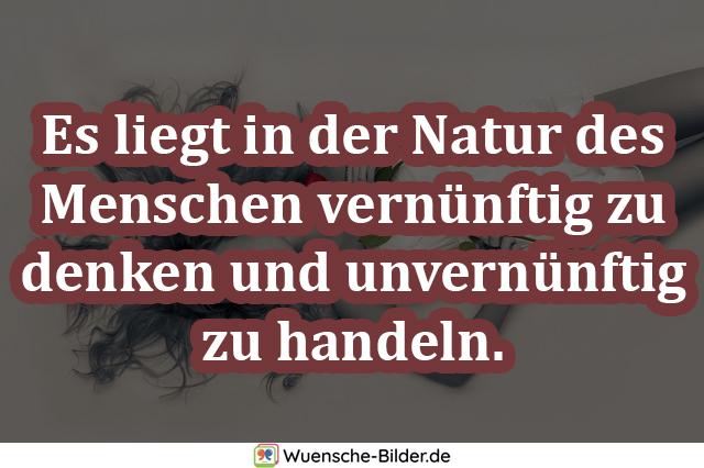 Es liegt in der Natur