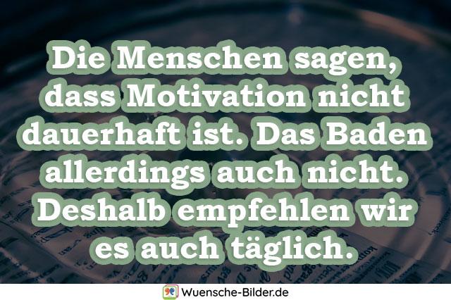 Die Menschen sagen, dass Motivation