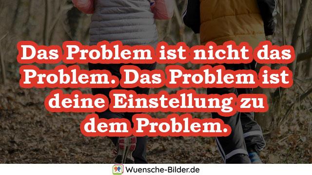 Das Problem ist nicht das