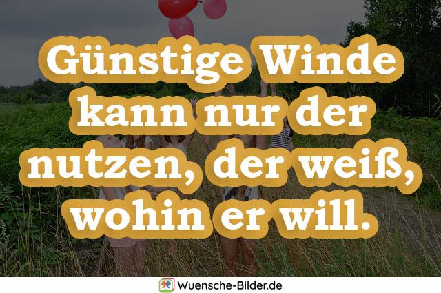 Günstige Winde kann nur der