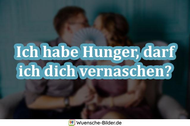 Ich habe Hunger, darf ich